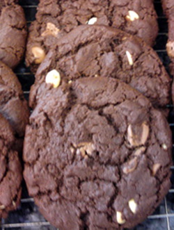 belgian chocolate chip cookies